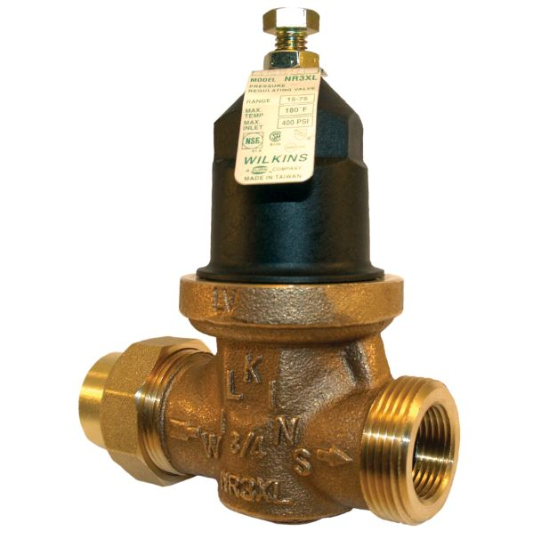 Wilkins 1 in. No Lead Brass Water Pressure Reducing Valve - 1-NR3